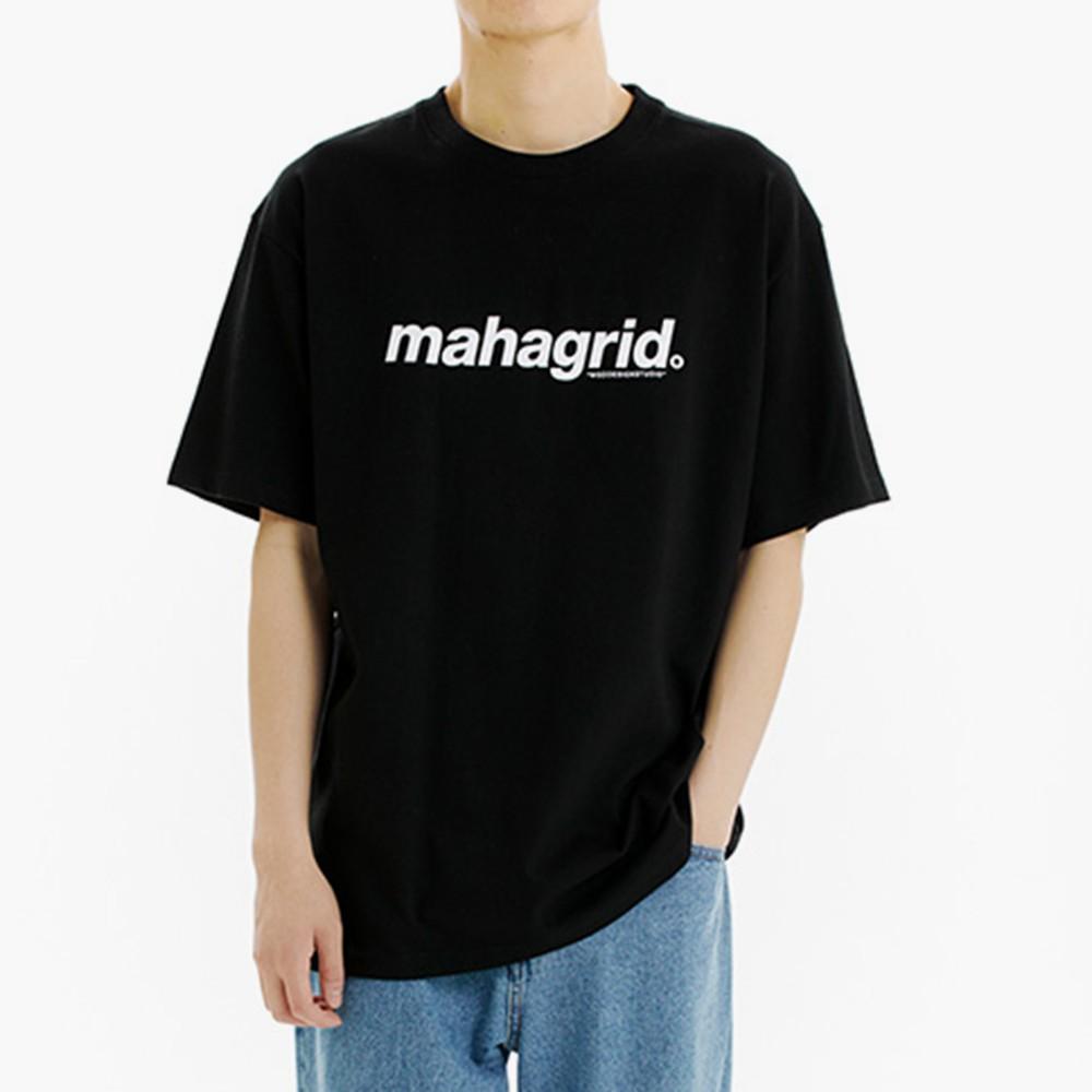 mahagrid 經典大Logo短袖Tee(黑)【21SS】