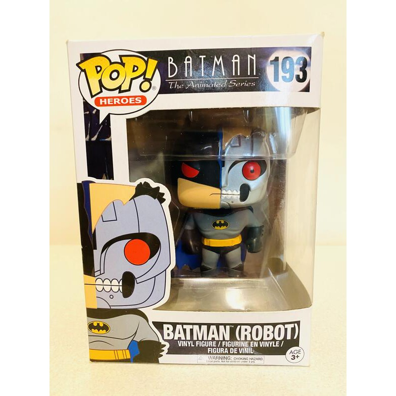 Funko Pop 193 Batman Robot 動畫版生化人機器蝙蝠俠