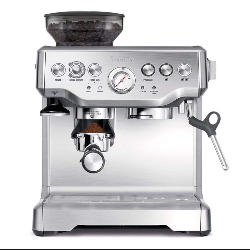 Breville (BES870XL)複合式研磨義式咖啡機