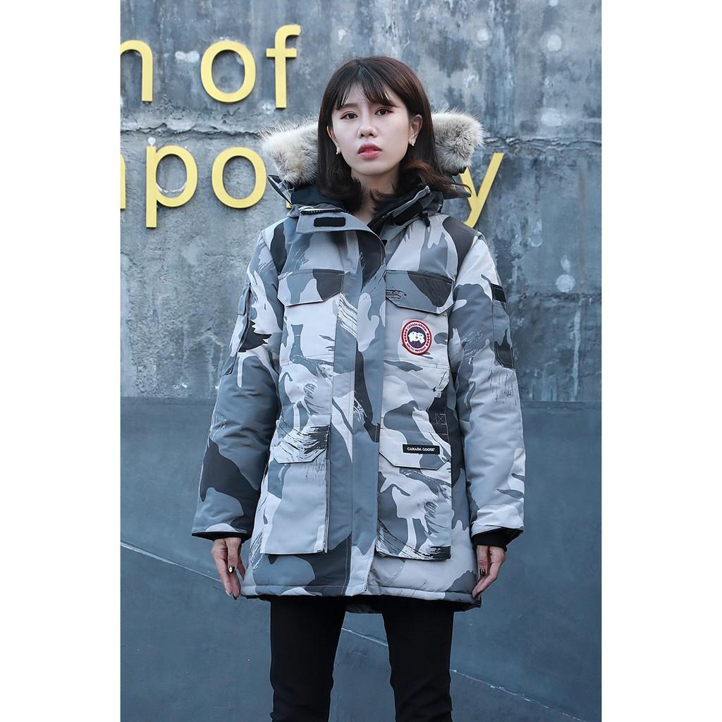 淘小丫 加拿大代購 CANADA GOOSE 加拿大鵝 女款寬大版 保暖外套 加厚外套 休閒外套 羽絨外套 抗寒﹣40℃
