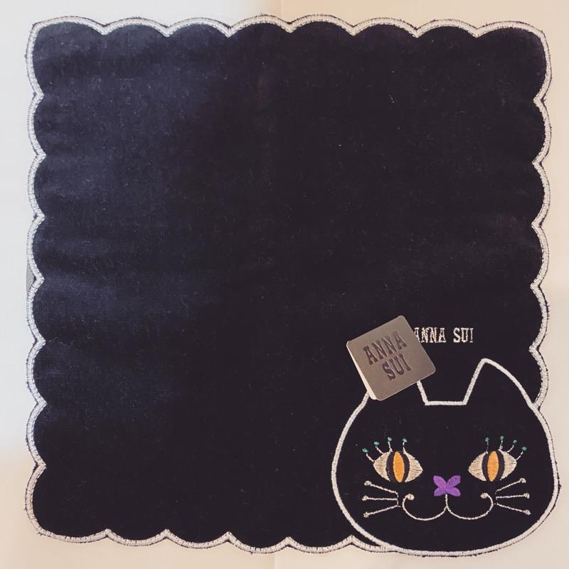 🇯🇵日本帶回ANNA SUI 厚棉毛巾 保證正品 正方型23*23  自用送禮倆相宜🥰 也可以手帕代替口罩唷