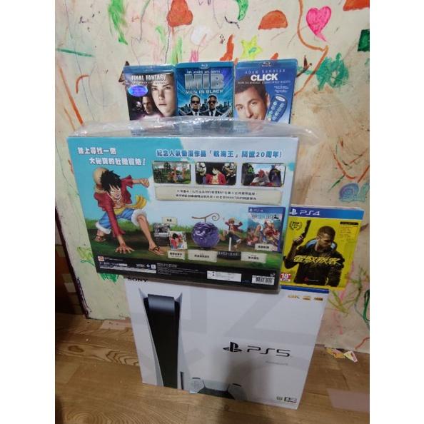 全新PS5光碟機版&禮包