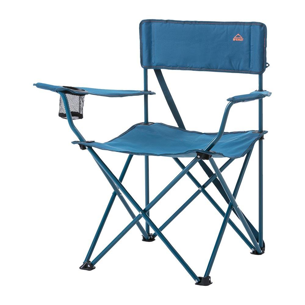 MCKINLEY CAMP CHAIR 110 露營椅-289340-900522-藍 INTERSPORT