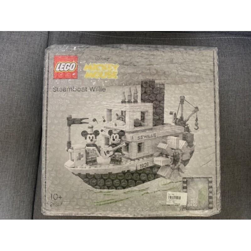 LEGO 21317 迪士尼蒸汽船(絕版)免運