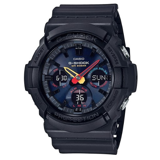 [日本空運] CASIO G-SHOCK 「Black×Neon」 GAS-100BMC-1A