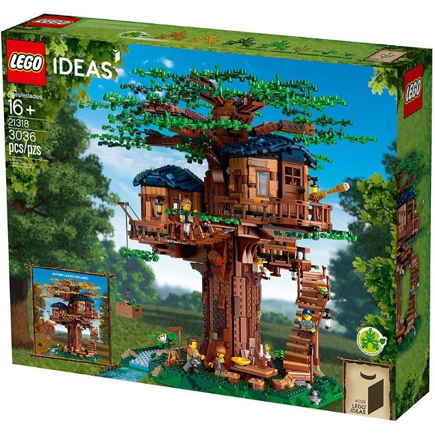 玩樂趣 LEGO樂高 21318 樹屋 全新盒組