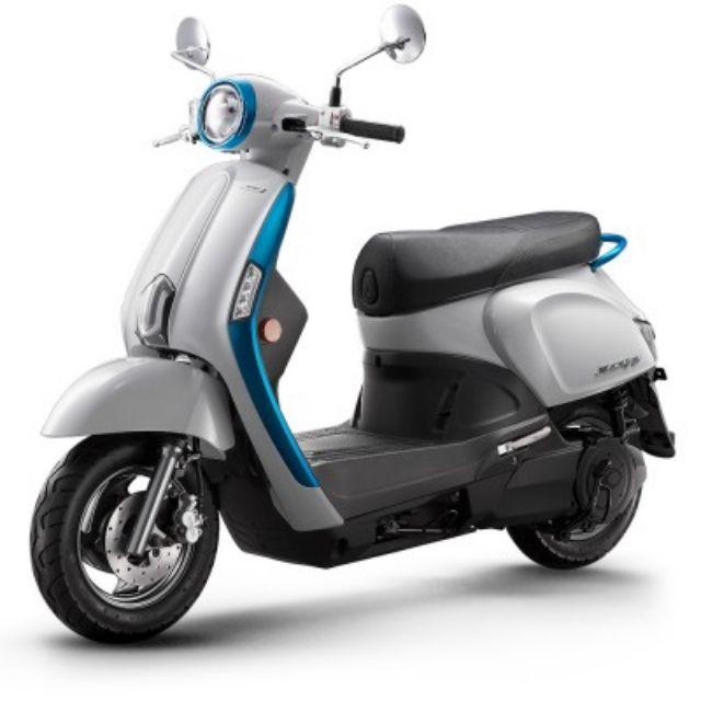 電動機車-外殼車殼全套特價 New Many 110 ev 全新原廠車殼 藍白全部