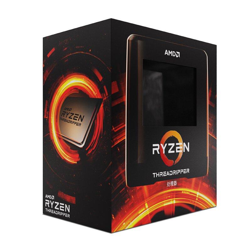 【電腦組件】AMD旗艦店銳龍Threadripper(線程撕裂者)3960X/3970X/3990X處理器24核48線程