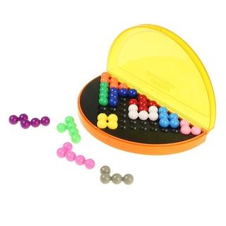 兒童拼圖遊戲 環保益智親子互動遊戲智慧金字塔立體積木拼圖 鍛煉思維邏輯能力 趣味玩具 現貨限时折扣