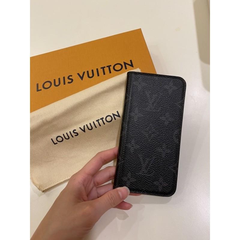 二手-LV專櫃iPhone 10掀蓋式手機殼