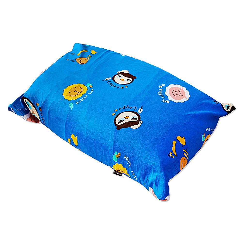 【奶油獅】同樂會系列-成人專用-馬來西亞進口純天然麵包造型乳膠枕(宇宙藍)