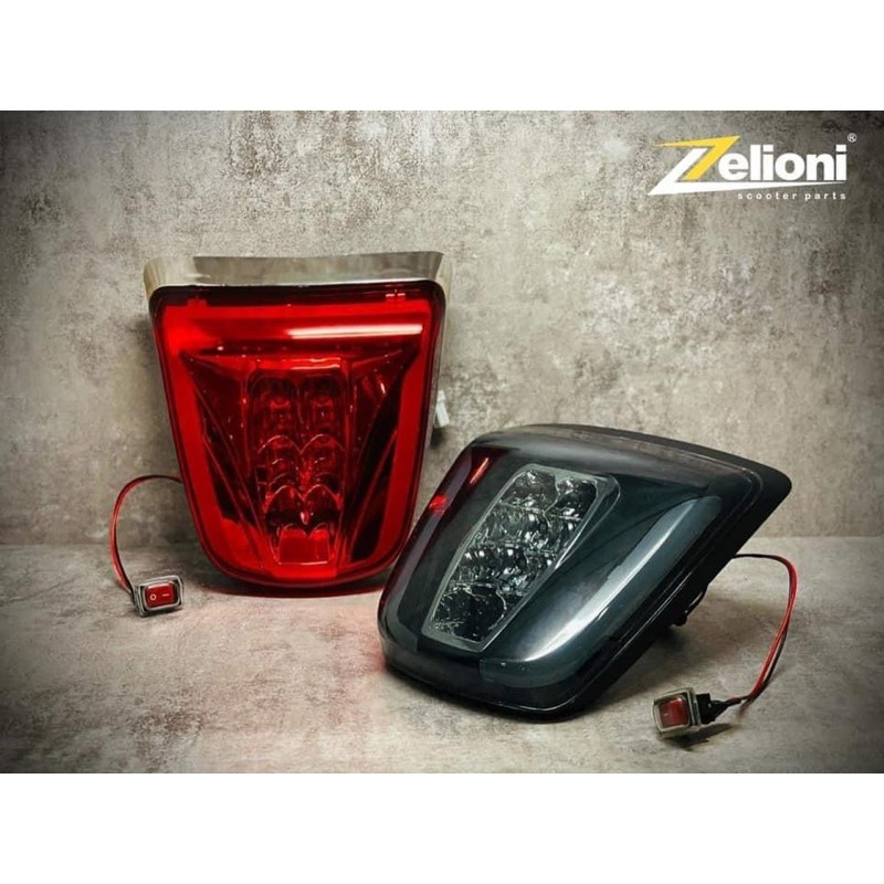 [ Morris Vespa ] Zelioni LED 漸進式 尾燈 春天 衝刺