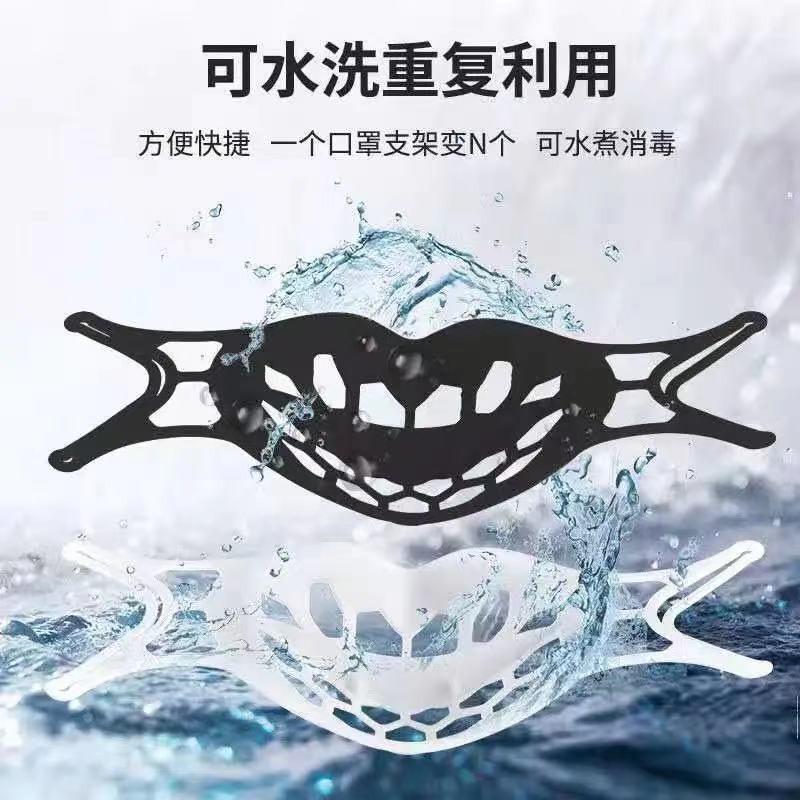 🎄Life House🎄口罩支架 口罩內托 3D立體支撐 口罩支撐架 口鼻分離 食品級 輕薄透 成人 兒童 口罩防悶神器