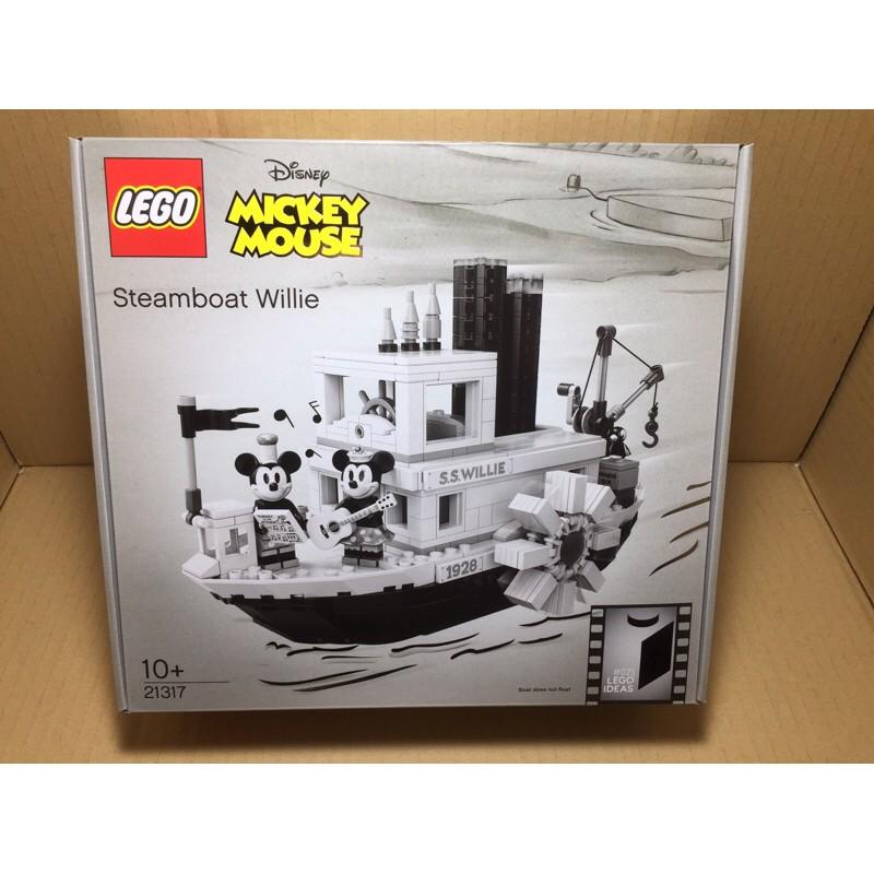全新樂高 LEGO   21317 威利號 米奇蒸汽船  現貨