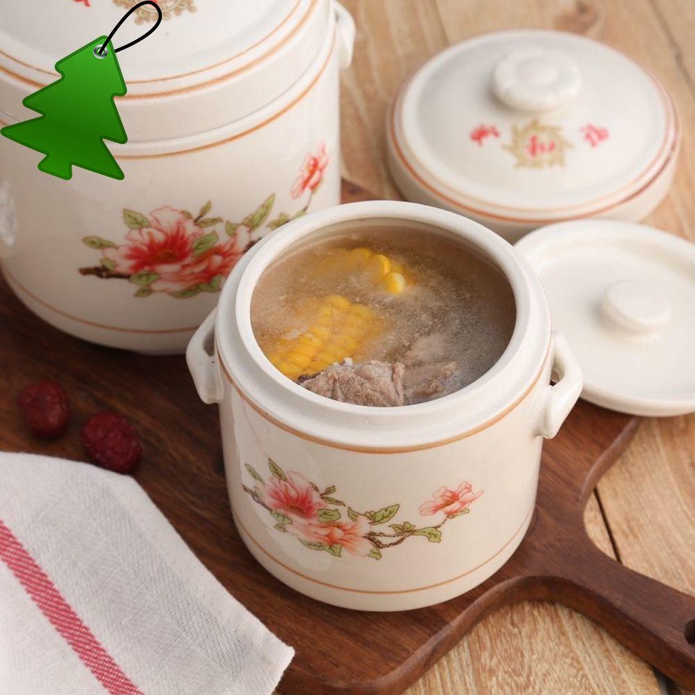 陶瓷廚房燉盅雙蓋隔水骨瓷燉罐家用碗湯罐燕窩燉盅[3月29日發完]實拍