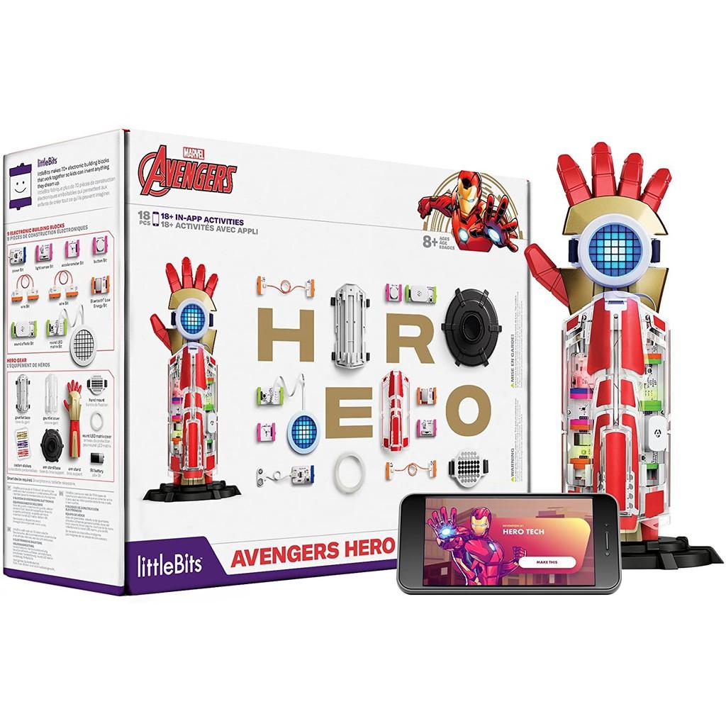 littlebits Marvel 漫威 鋼鐵人聲光手套組 發明家玩具套組 鋼鐵人 手套 現貨