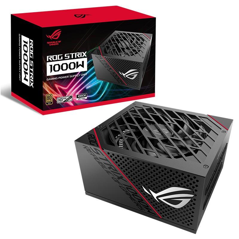🏵新品上新🏵華碩(ASUS)ROG STRIX 雷鷹1000W金牌全模電源(雙路CPU供電十年質保金牌認證全日