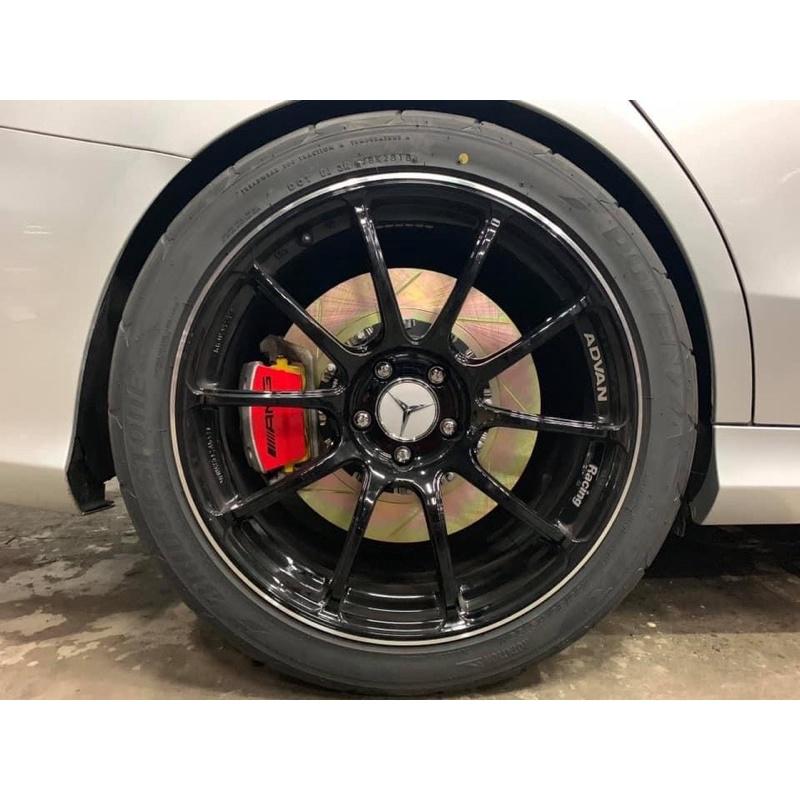 晟信 賓士M-Benz W205 C63 AMG適用 HHC兩片式加大碟盤 煞車碟盤 需報價