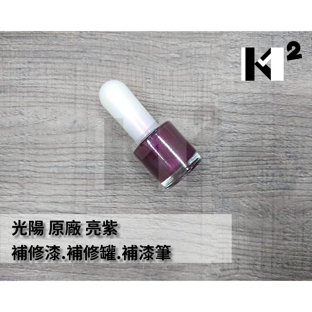 材料王*光陽 原廠 車殼 補修漆.補漆筆.修補漆.補漆刷-亮紫/EXP/MANY 110 水鑽版*