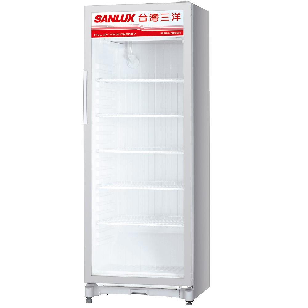 【SANLUX 三洋 】305L 直立式冷藏櫃 SRM-305RA