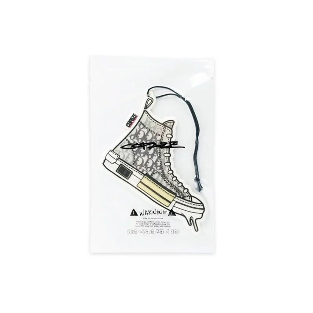 COPAZE 球鞋插畫空間香氛片-Dior B23 Top 香氛片 Dior 香氛片 潮鞋 潮流 車用芳香 飾品 禮物