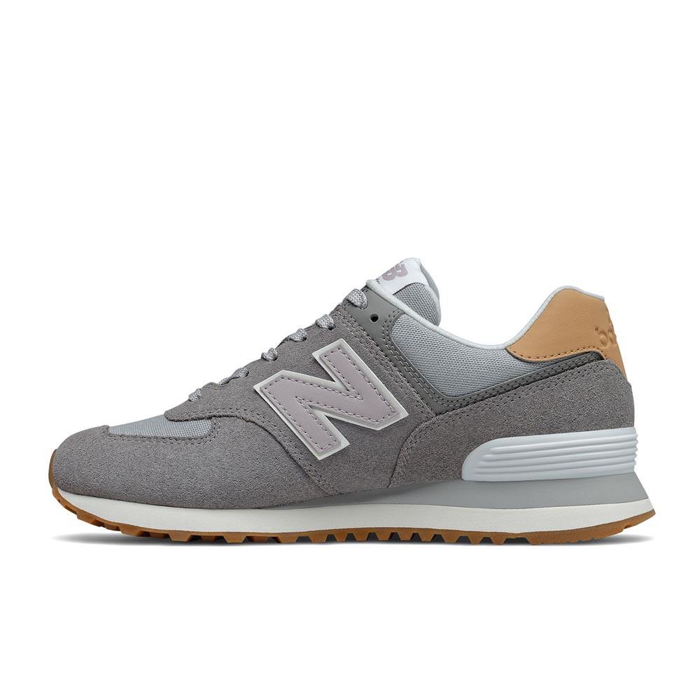 New Balance 574 系列 女休閒鞋 WL574NA2-B 灰色