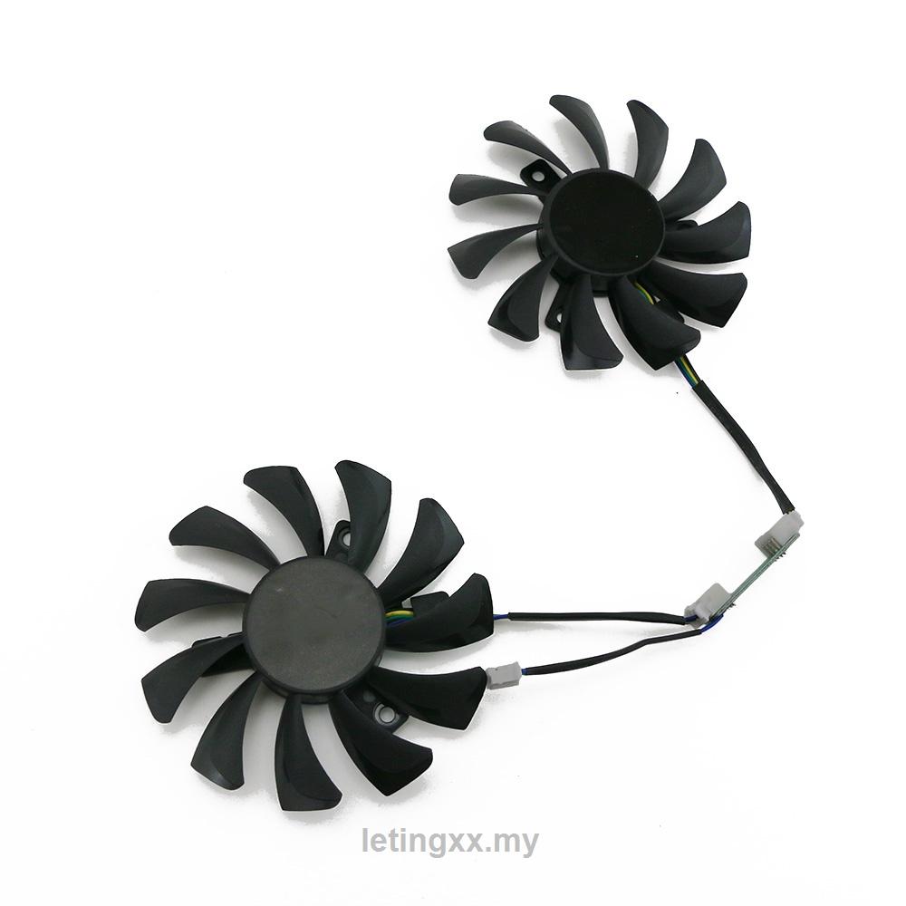 用於 Zotac Gtx 660Ti 650Ti Boost Gtx 970 圖形卡冷卻器風扇的 Vga 冷卻風扇替換