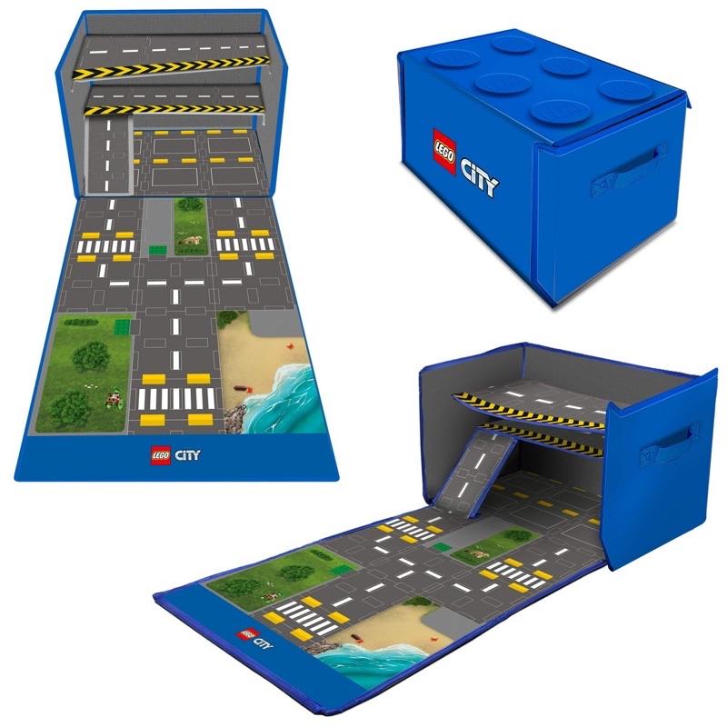 NEVER MIND_V《LEGO樂高》正版樂高城市系列商品-遊戲收納箱 遊戲墊