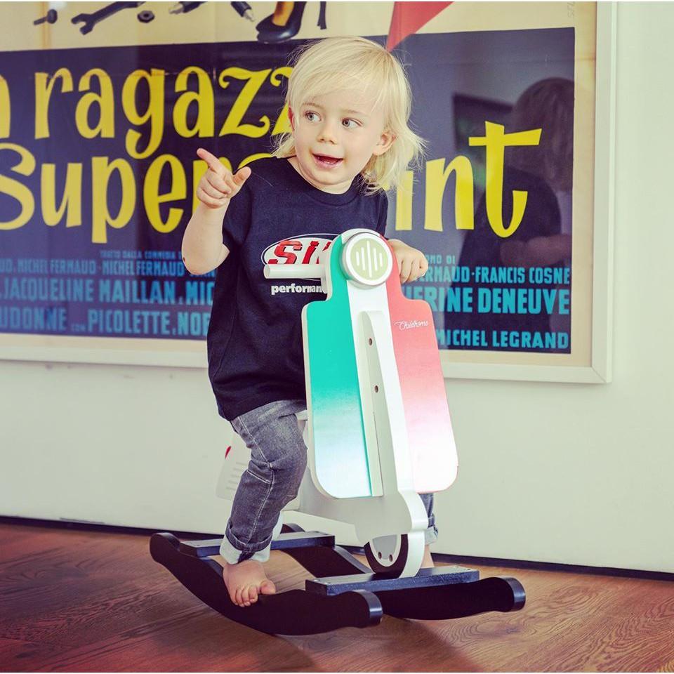 【Yu Hong】兒童搖擺滑板車 偉士牌 CHILDHOME 設計的Vespa搖擺式兒童滑板車