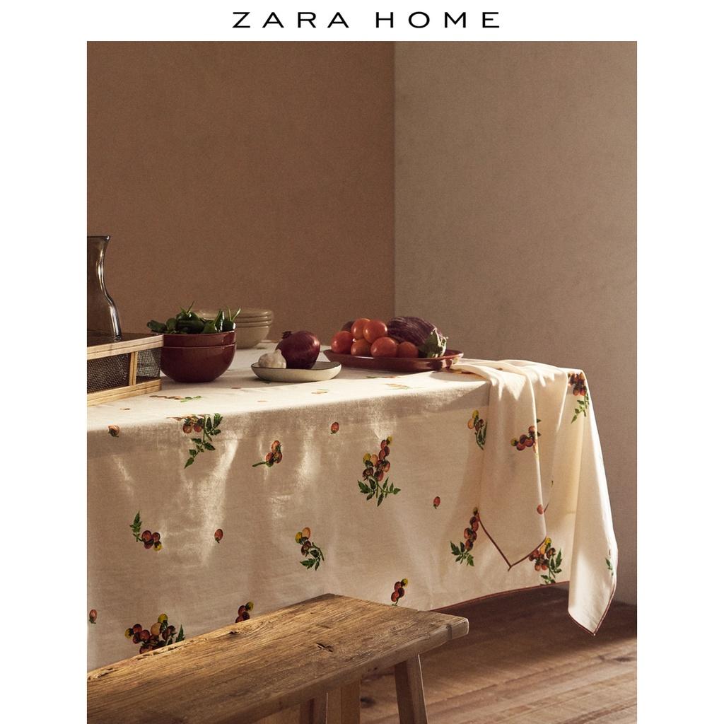 現貨Zara Home JOIN LIFE 系列番茄印花西餐桌布桌墊臺布 46203021114
