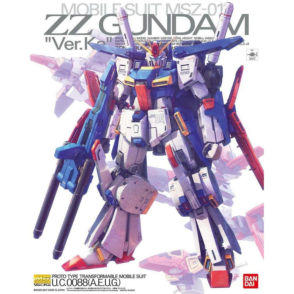【上士】BANDAI MG 1/100 ZZ鋼彈 ver.ka 224519