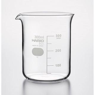 《旬好日貨》現貨 日本 HARIO 耐熱玻璃 刻度 量杯 燒杯 濾杯底壺 300ml ☆日本製☆B-300-SCI 新竹縣