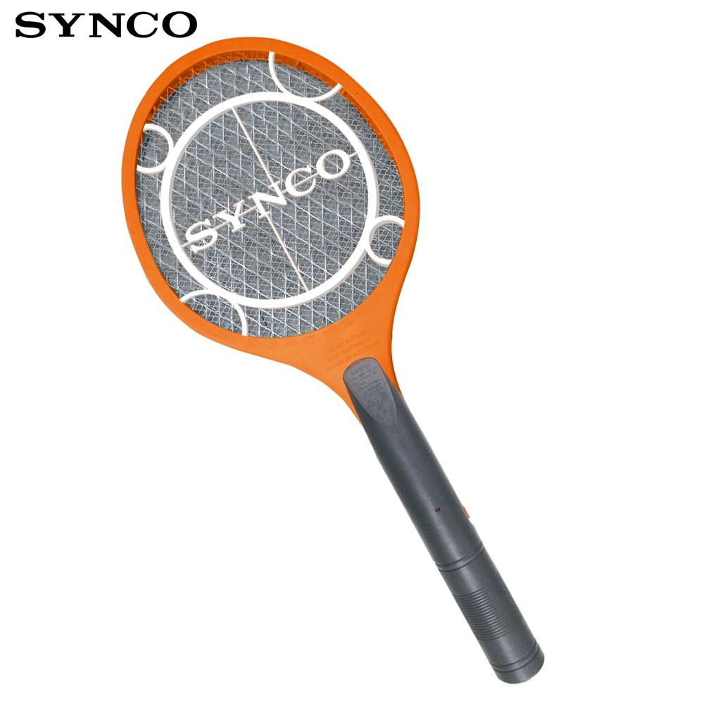 【SYNCO新格】 電池式小黑蚊 電蚊拍 捕蚊拍 電蚊好幫手SML-B1503HL