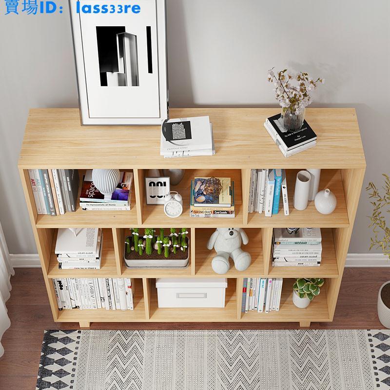 書架落地簡約現代家用多層學生收納架客廳隔斷置物架子簡易小書柜 【頓格家居】