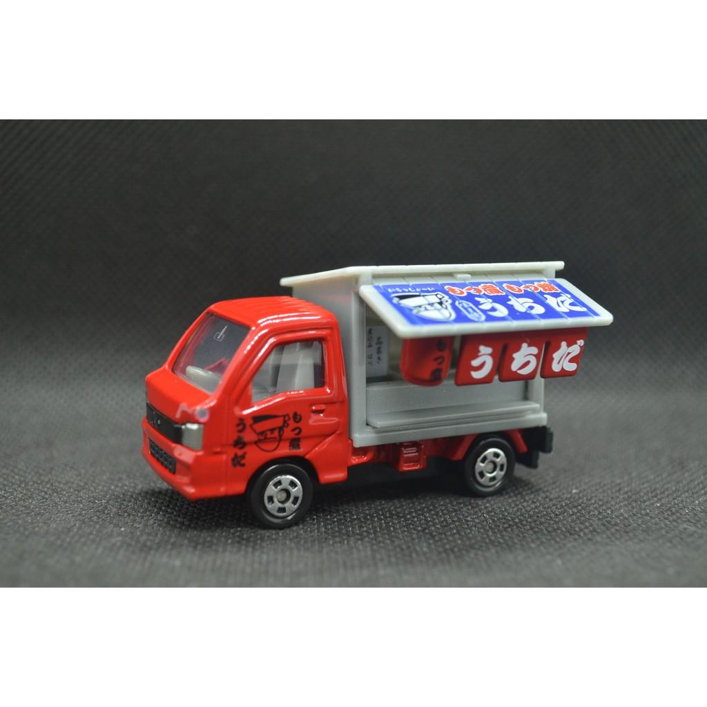 【T'Toyz】 Tomica 食物運送車組 關東煮車 Subaru Sambar Truck 無盒 二手 越南製