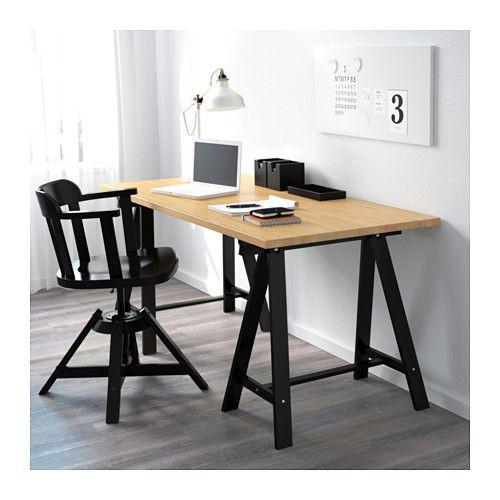 北歐IKEA宜家ODDVALD/GERTON電腦桌工作桌辦公桌書桌/櫸木/155x75x70/二手八成新/特$4500