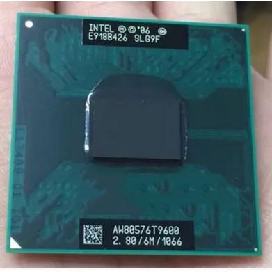 英特爾 Core2 Duo T9400 T9550 T9600 筆記本 CPU 原始版本 GM / PM45 yidu