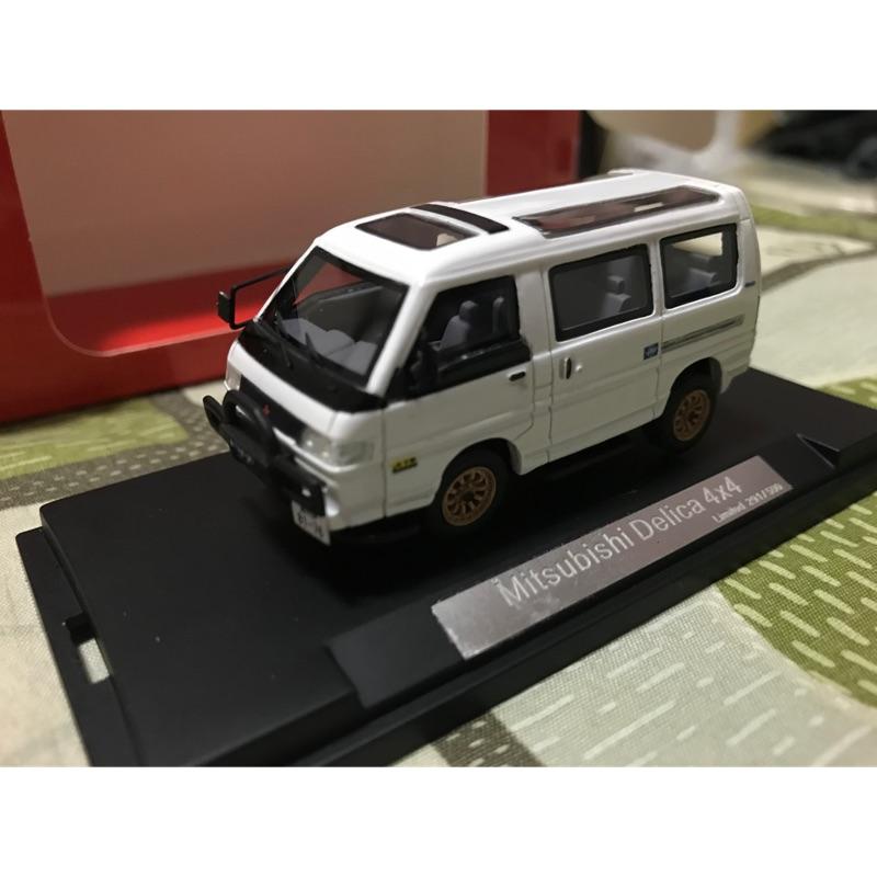 1/64 模型車精品得利卡 Mitsubishi 三菱 Delica 越野 4*4 限量500台 汽車模型