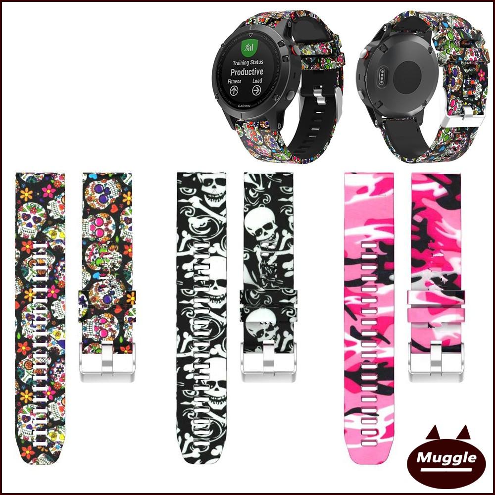 ATMOS MISSION ONE潛水電腦腕錶 替換錶帶手錶帶 印花硅膠錶帶 ATMOS MISSION ONE手環配件