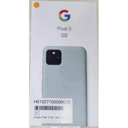 Google pixel 5 綠色現貨 全新未拆封