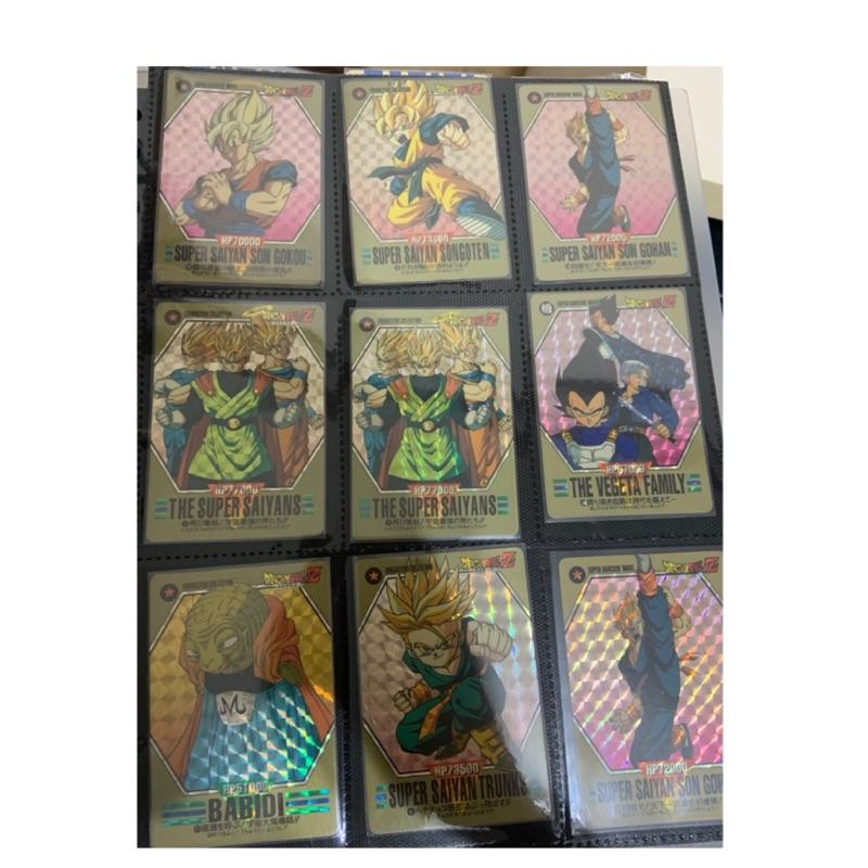 七龍珠 超 龍珠英雄 閃卡 萬變卡 戰鬥卡 條碼卡