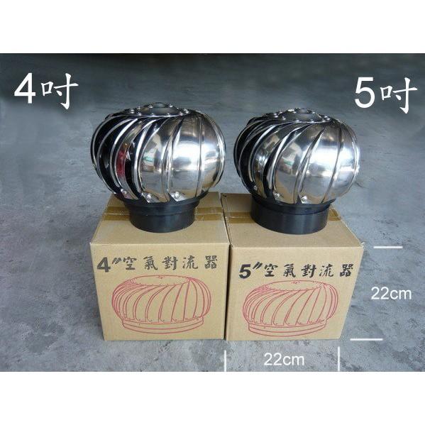 §排風專家§ 4吋 5吋 304不鏽鋼 通風球, 排風球, 通風器 適用於各種屋頂 大樓通風管 更換 維修 安裝