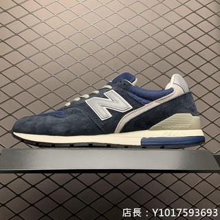 NEW BALANCE 996 3M反光 藍 休閒運動 慢跑鞋 CM996GN 男女鞋