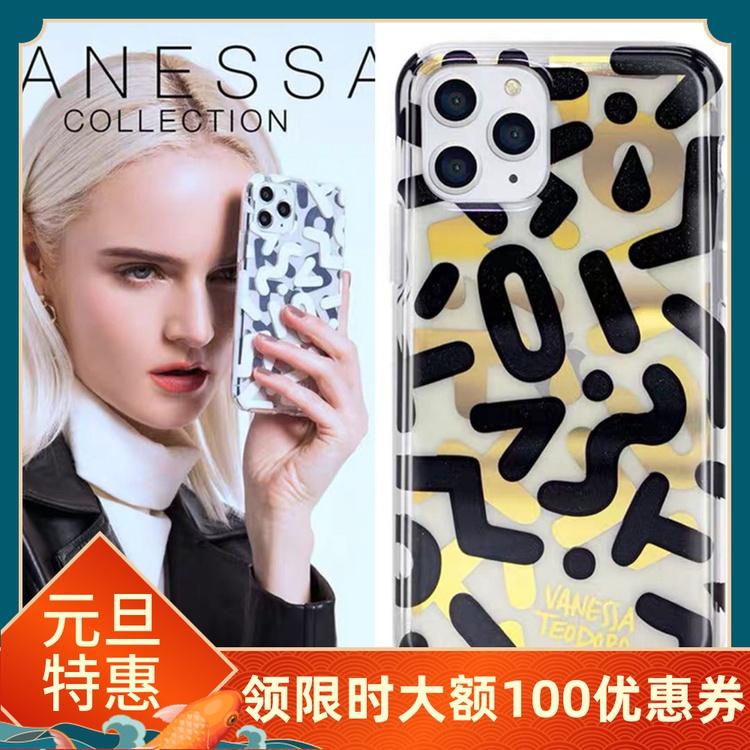 SIGEMA聯名Vanessa小眾設計師品牌適用於iPhone 11/RPO/MAX手機殼