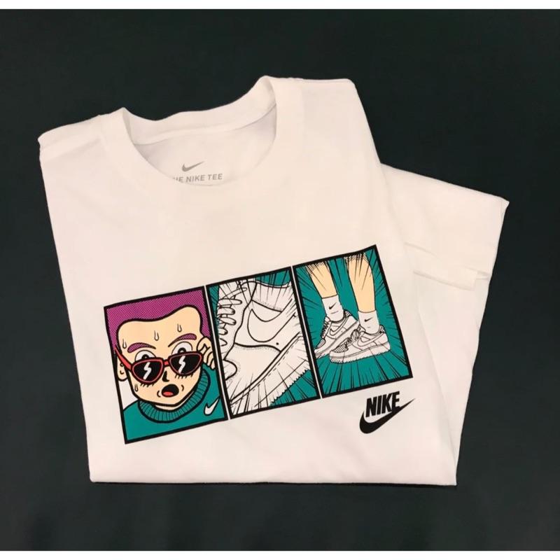 [LCW] Nike NSW 美式塗鴉 三格漫畫 卡通 短T 短袖 CT6528-100 CT6528-010