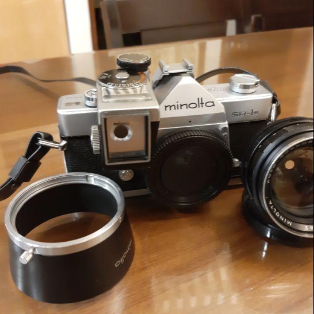 Minolta SR1 測光表 58mm F1.4  遮光罩