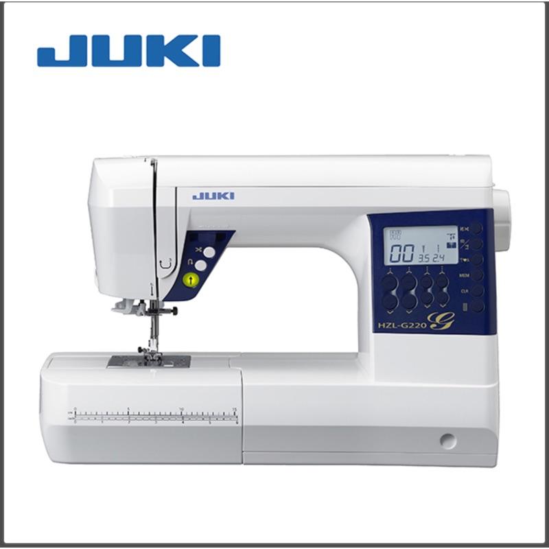 二手 九成新 108年11月購入 JUKI HZL G220 縫紉機(贈梭子、壓布腳)