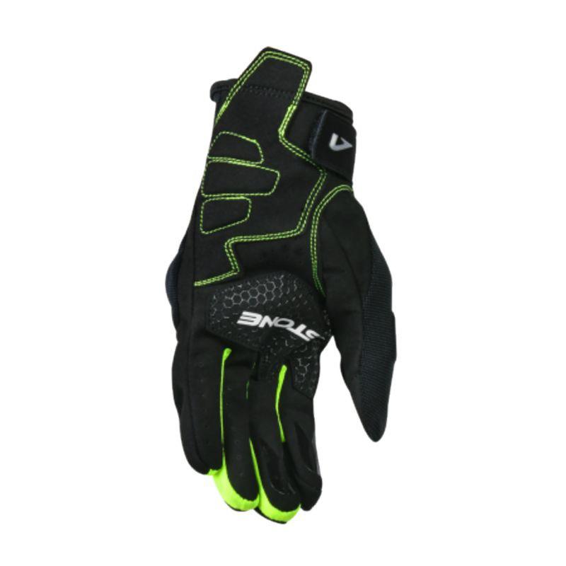 Astone KA21 觸控手套 夏季透氣觸控手套 黑螢光黃 透氣手套 隱藏式護具 可觸控《淘帽屋》