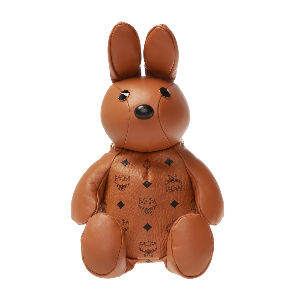 MCM Rabbit 兔子後背包 焦糖色