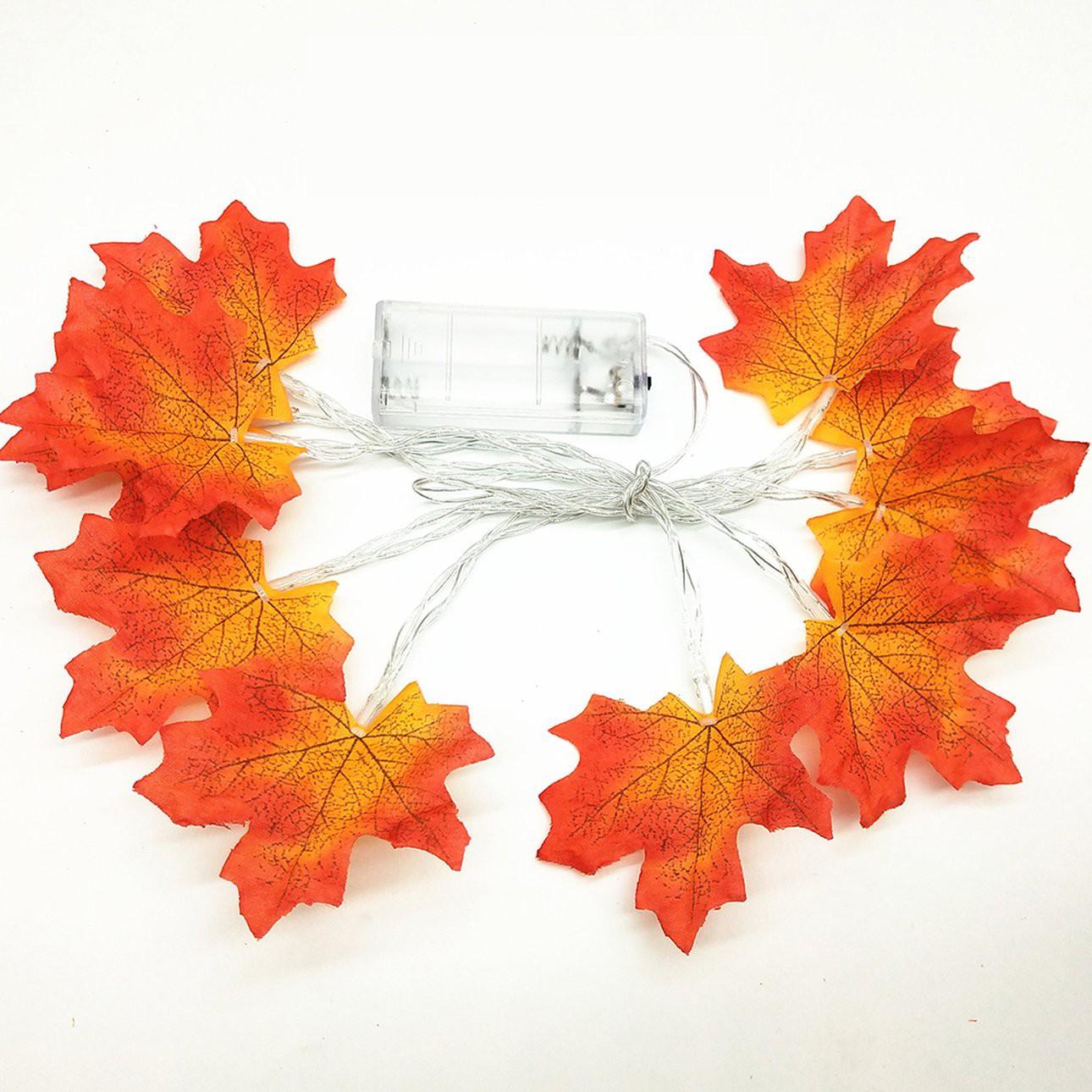 更多 Led 楓葉藤製人造花家庭聚會裝飾 Diy 工藝